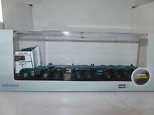 Oxford 76MAN03CT MAN03CT 1/76 OO Nuevo con etiquetas contenedores hombre TGX D TEC Combitrailer