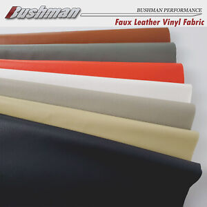 Waterproof Leatherette Auto Upholstery Vinyl Faux Leather Fabric Furniture Craft