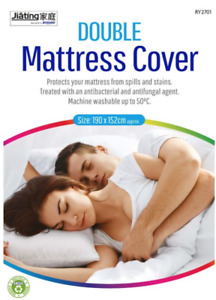 WATERPROOF MATTRESS PROTECTOR COVER FITTED DOUBLE, KING & SUPER KING SIZES