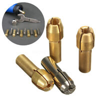 Foret Perceuse Collet Mandrin Adaptateur 0.8-3.2mm Pince Serrage Pr Dremel Outil