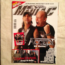 METAL MANIAC 4/2012 ACCEPT DREAM THEATER DRAGONFORCE PARADISE LOST OVERKILL