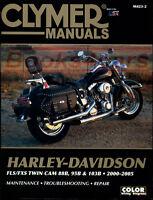 HARLEY DAVIDSON SHOP MANUAL SERVICE REPAIR CLYMER FLS FXS BOOK HAYNES CHILTON