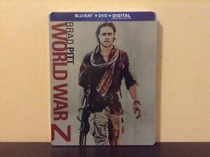 World War Z - Steelbook (Blu-ray Combo) *NEW*