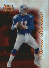 1996 Select Certified Mirror Red Premium Stock Football Card #45 Drew Bledsoe