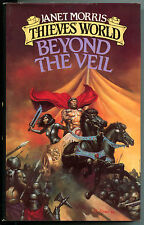 BEYOND the VEIL, HC/DJ, Janet Morris, 1st, 1985, FN/VG+, unread, Thieve's Wo