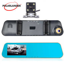 Full Hd Digital Video Recorder Car Dvr 1080P 4.3 Inch Camera Auto Dual Lens