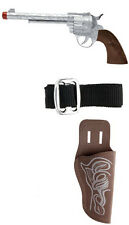 Cowboy pistola con cinturón + volver holster-accesorios accesorio carnaval carnaval