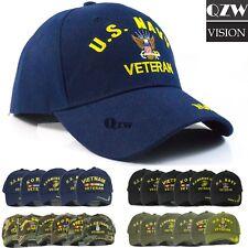 83dd4e18e48 US Military Tactical Army Navy Marine Air Veteran Adjustable Baseball Cap  Hat