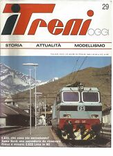 ITREMI N°29 E.633 CHE COSA STA SUCCEDENDO ? / ROMA NORD / E.633 LIMA IN HO
