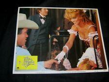 Original THE VILLAIN Kirk Douglas ARNOLD SCHWARZENEGGER Ann Margret BEST CARD