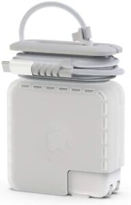 Cord Organizer Compatible w/Apple MacBook Pro Charger, Protective Case