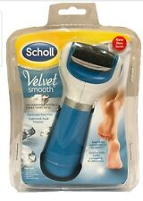 New SCHOLL VELVET SMOOTH ELETRONIC FOOT FILE WITH DIAMOND CRYSTALS
