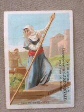 chromos LA SANS RIVALE - sainte genevieve  -118