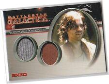 Battlestar Galactica Season 4 - DC19 Enzo Dual Costume Card (A) - Patrick Currie