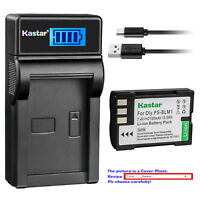 Kastar LCD Charger Battery for Olympus BLM-1 BLM-01 & Olympus EVOLT E-500 E500