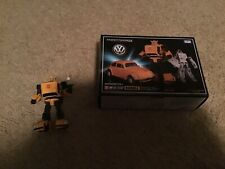 Transformers MP-21 Masterpiece Bumblebee 3 faceplates-US Seller