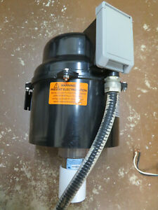 Spa Hot Tub,Silencer Air Blower, Mod# 1-6310220F-TS, 240v 2.5A,Switch/wires incl
