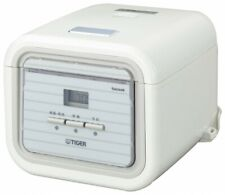 TIGER Microcomputer Controlled Rice Cooker Steamer White 3 cups 220-230V
