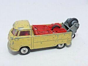Vintage 1960s Corgi Toys 490 Volkswagen VW Breakdown Truck Split Screen