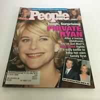 People Magazine 12/21/98 - Meg Ryan: Daily Battle to Keep her Own Family First