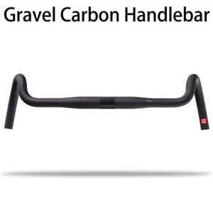 2020 Carbon Gravel handlebar Big Flare Cyclocross Road Bike handlebars