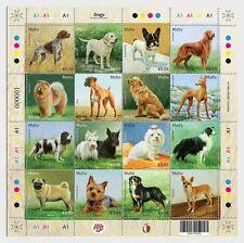 Malta 2018 - Dogs - Miniature Sheet mnh