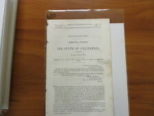 Government Report Civil War 1863 Tax on All Wine Made #637