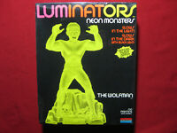 Wolfman Figure Luminators Neon Monster Monogram 1991 Model Kit Vintage Horror