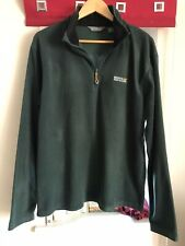 Dark Green Regatta Mens Fleece Size L