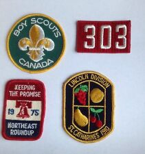 Scout Patches Canada, NE Roundup, 303, Lincoln Division