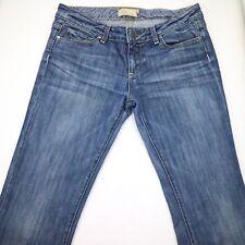 PAIGE LAUREL CANYON JEANS Low Rise Boot Cut Medium Blue Denim Pants Women 29 USA