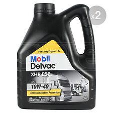 Mobil DELVAC XHP ESP 10w-40 Olio Motore Diesel - 2 x 4 LITRI 8 L