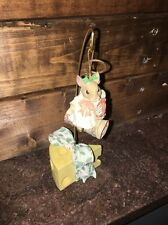 1996 Enesco Priscilla Hillman Mouse Tales 178748 Angels We Have Heard On High