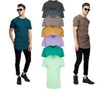 URBAN CLASSICS Herren T-Shirt Extra Lang Oversize Shaped Long Shirt Tee Big Size