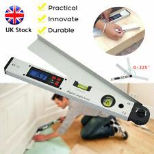 Digital LCD Protractor Inclinometer Angle Meter Spirit Level Finder 400mm 0~225°