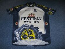 Festina Watches Peugeot Sibille Italian Cycle Jersey [XXL]