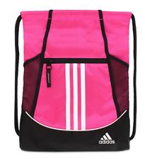 ADIDAS Alliance II Sackpack BackPack Pink & Black BNWT