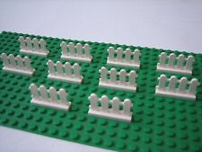 *New* 10 x Lego White Picket Fence 33303 (1x4 Stud)