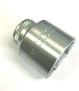 """STAHLWILLE 52-32 Socket, Metric, 1/2""""drive, 6 Point, 32mm. (03030032)"""