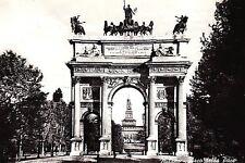 Vintage Milan Italy Travel Postcard Milano Italy Arco della Pace Real Photo