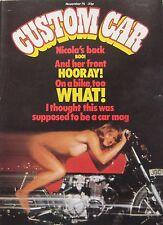 Custom Car magazine November 1975