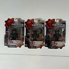 Set of 3 Gears Of War Series 2 Marcus Fenix Augustus Cole & Dominic Santiago 4\