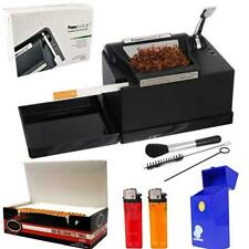 NEW Powermatic 2 II+Electric Cigarette Injector Machine+Tubes,Cig Case & Ligther