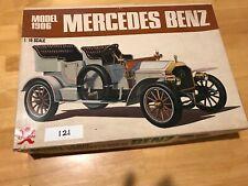 Vintage Bandai 1/16 Mercedes Benz Classic Car Model 1906 Model Kit