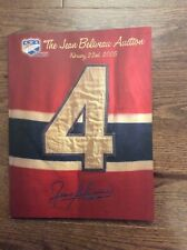 Jean Beliveau 2005 Auction Catalog Jacques Demers Noel Picard Rick Vaive +++