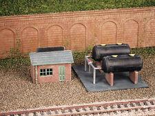 Ratio N Gauge Scenery/Layout Plastic Railway Kit No:228 Oil Depot.