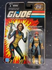 G.I. Joe Silver 25th Anniversary Scarlett Action Figure