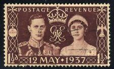"1937 Kingâ™"" Edward Viii Coronation Of George Vi & Elizabeth Stamp"