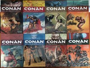 Conan Hardcover Set Vol  0 1 2 3 4 5 6 7 Dark Horse Busiek Nord HC 8 Books!