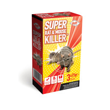 Doff Super Rat & Mouse Killer / Bait 3 x 25g Pack